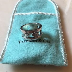 Sterling silver Tiffany's ring